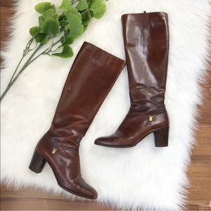 Salvatore Ferragamo | Vintage Brown Leather Boots